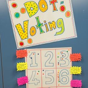 Dot Voting - square